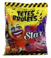 , Têtes Brûlées, Star, Strawberry Taste, Blackcurrant Taste